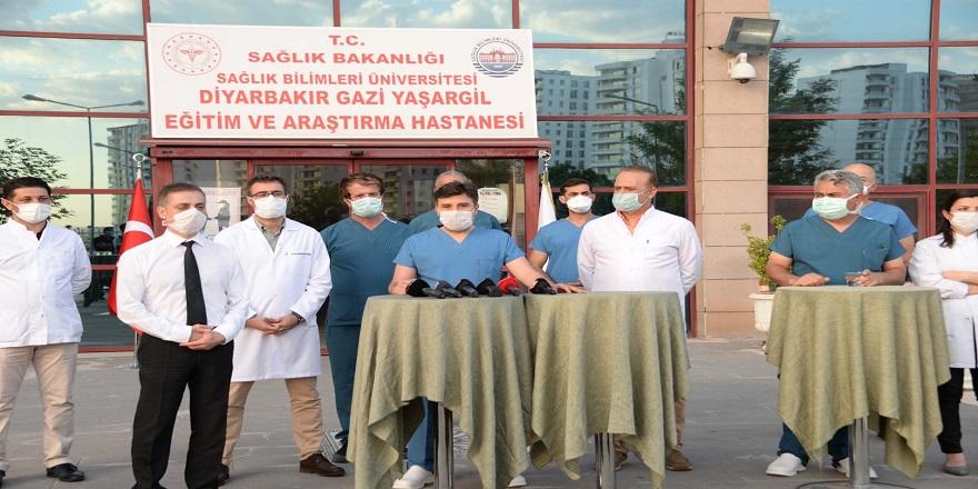 Koronavirüs tedavisinde Diyarbakır'dan dünyaya 'Türk ışını'
