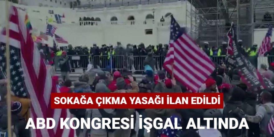 ABD Kongre binasında Ortalık Karıştı