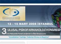 3. Ulusal Psikofarmakoloji Kongresi