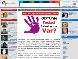 ODTÜ'de taciz skandalı isyanı!