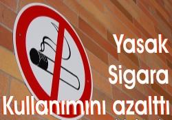 Yasak Sigara Kullanımını Azalttı