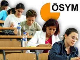 ÖSYM 2009 yılı sınav takvimi