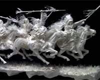 Kağıttan Yapılmış Heykeller
