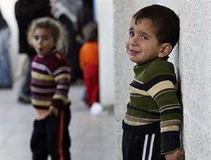 Gazze'de hastaneler çocuklarla dolu