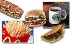 Fast food insanları 'beyinden' vuruyor