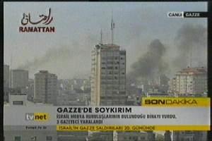 İsrail bu kez gazetecileri vurdu