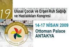 19. Ulusal Çocuk ve Ergen Ruh Sağlığı ve Hastalıkları Kongresi