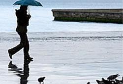 Yağmur geliyor, sele dikkat
