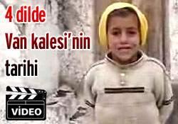 4 dilde Van Kalesi tarihi Süper Komik Video