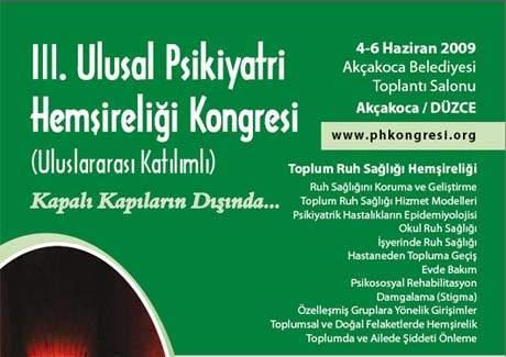 III. Ulusal Psikiyatri Hemşireliği Kongresi