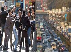 Trafik stresinin ilacı nefes egzersizi