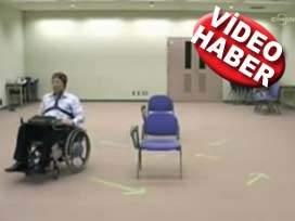 Engelli Düşünüyor, Araç Kendisi gidiyor VİDEO