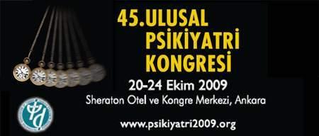 45. Ulusal Psikiyatri Kongresi Başladı