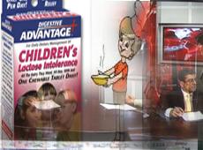 Çocuklar, reklam bombardımanı altında