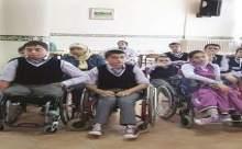 Engelli miniklere ortopedist desteği