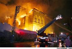 Samsun Akıl Hastahanesi, 3. defa yakıldı