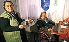 Engelliler için evde iş dönemi