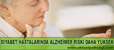 Diyabet bunama riskini artırıyor