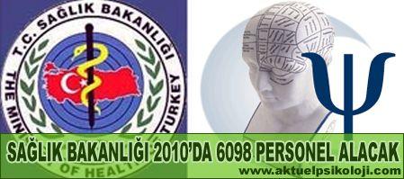 Sağlık Bakanlığı 152 Psikolog Alacak