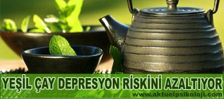 Yeşil Çayın Antidepresan Etkisi Var