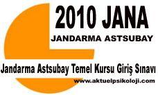 2010 JANA Sınav Tarihi