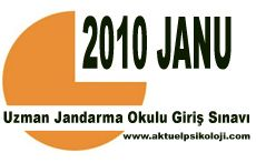 2010 JANU Sınav Tarihi