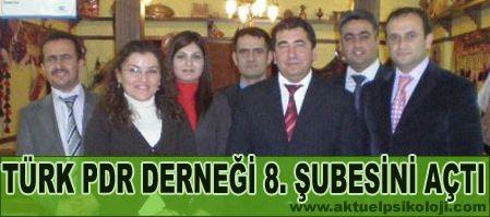 Türk PDR Derneği Osmaniyede Şube Açtı