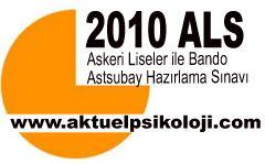 2010 ALS (Askeri Liseler Sınavı)