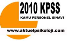 2010 KPSS /1 Tercih Kılavuzu