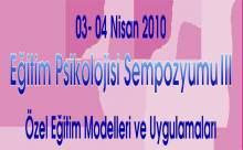 III. Eğitim Psikolojisi Sempozyumu