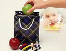 Beslenme çantasına 4 ana besin