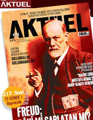Aktüel Dergisi Fruedu Kapak Yaptı
