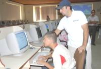 Zihinsel Engelli Çocuklar Bilgisayar Eğitiminden Geçiriliyor