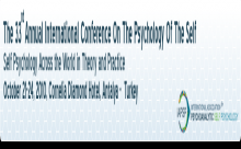 33. Uluslarası Kendilik Psikolojisi Kongresi