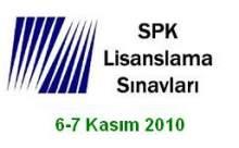 2010 SPK Lisanslama Sınavları Soru ve Cevap Anahtarı