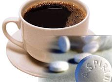 Kahve ve ağrı kesiciyi birlikte almayın