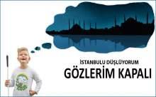 """Ataköy'de """"İstanbul'u Düşlüyorum Gözlerim Kapalı"""" Etkinliği Yapıldı"""