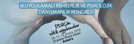 III. Uygulamalı PDR Kongeresi Ankarada Başladı