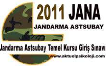 2011 JANA Başvuru İşlemleri