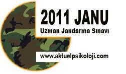 2011 JANU Sınav Giriş Yerleri