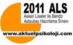 2011 ALS Soru ve Cevapları