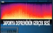 Japonya Depreminin Tüyler Ürperten Sesi