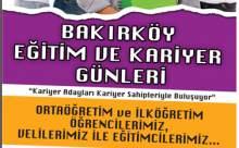 Bakırköy Kariyer ve Eğitim Günleri (20-21-22 Nisan)