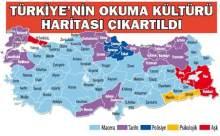 Türkiye'nin 'Okuma Kültürü Haritası' Çıkartıldı