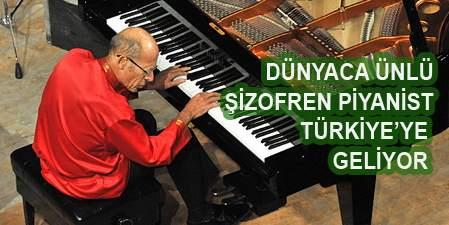 Şizofren Piyanist David Helfgott tan 7 Konserlik Turne