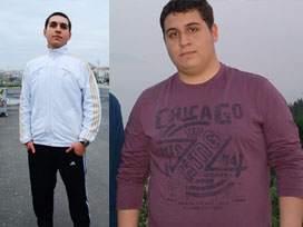 Kız arkadaşı için 5 ayda 50 kilo verdi
