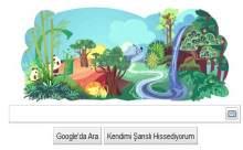 Google Dünya Gününü Logosuna Taşıdı