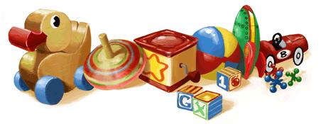 23 Nisan Ulusal Egemenlik ve Çocuk Bayramı Google logosu