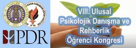 VIII. Ulusal PDR Öğrenci Kongresi