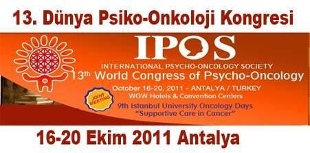 13. Uluslararası Psiko-Onkoloji Kongresi Başladı